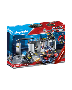 Playmobil 70338 City Action Take Along Tactical Unit Headquarters