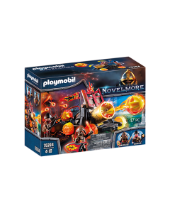 Playmobil 70394 Knights Novelmore Burnham Raiders Lava Catapult