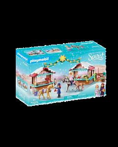 Playmobil 70395 Spirit A Miradero Christmas
