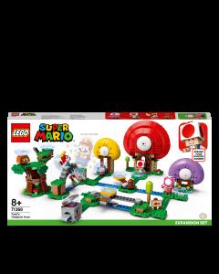 LEGO 71368 Super Mario Toad's Treasure Hunt