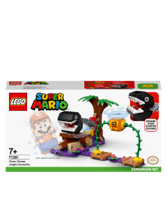 LEGO 71381 Super Mario Chain Chomp Jungle Encounter Expansion Set