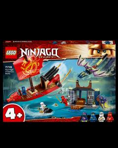 LEGO 71749 NINJAGO Legacy Final Flight of Destiny's Bounty Ship
