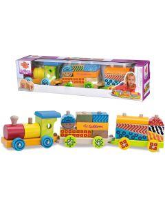 Eichhom Colour Wooden Train