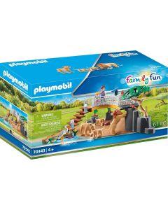 Playmobil 70343 City Life Lion Enclosure