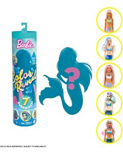 Barbie GVK12 Colour Reveal Wave 4 Mermaids