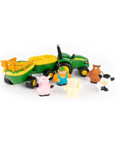Build a Johnny  34908 Animal Sounds Hayride Tractor Play set