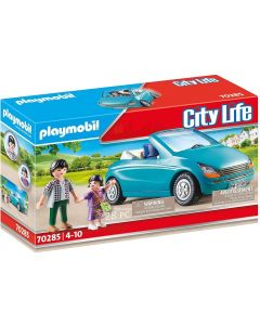 Playmobil 70285 City Life Family with Car