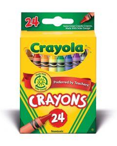 Crayola  52-3024 Crayons 24 Assorted