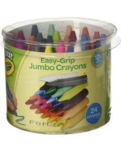 Crayola 81-8104 24 My First Jumbo Crayons