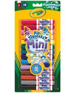 Crayola 1002913 14 Mini Pipsqueak Markers