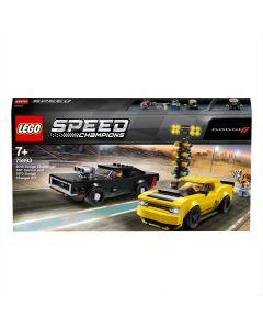 LEGO 75893 2018 Dodge Challenger SRT Demon & the 1970 Dodge Charger