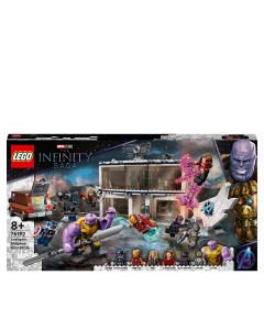 LEGO 76192 Marvel Avengers: Endgame Final Battle Building Set with Thanos Figure and 6 Minifigures, Toy for Kids 8+ Years Old