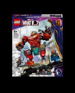 LEGO 76194 Marvel Tony Stark's Sakaarian Iron Man Action Figure to Transformer Car Toy for Kids Aged 8+