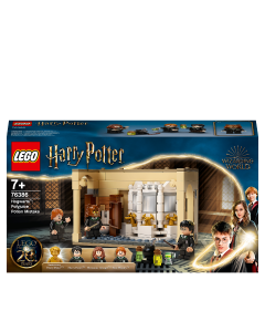 LEGO 76386 Harry Potter Hogwarts: Polyjuice Potion Mistake Castle Set with 20th Anniversary Golden Minifigure and Transforming Minifigures