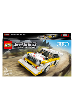 LEGO 76897 Speed Champions Audi Sport quattro S1 Racer Toy