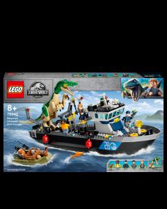LEGO 76942 Jurassic World Baryonyx Dinosaur Floating Boat Escape