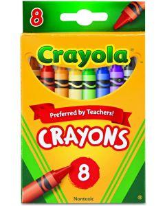 Crayola 52-3008 Crayons 8 Assorted