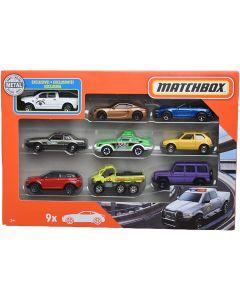 Matchbox X7111 9 Car Gift Pack Assortment