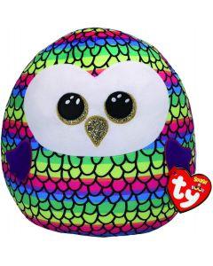 TY 39291 Squish a Boo Owen Owl