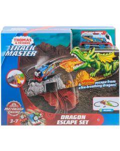 Thomas Trackmaster FXX66 SAS Thomas Dragon Escape Set .