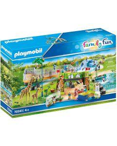 Playmobil 70341 City Life Family Zoo
