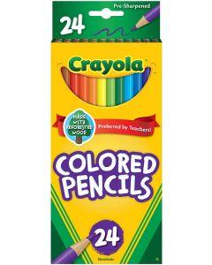 Crayola Long Colored Pencils 24-Count