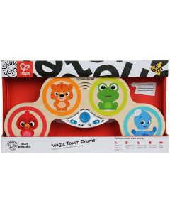 Baby Einstein E11650 Hape Magic Touch Drums Musical Wooden Toy