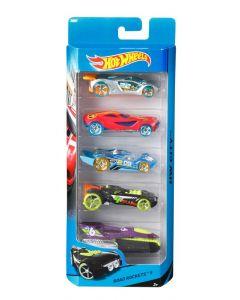 Hot Wheels 5 Car gift Pack Assortment