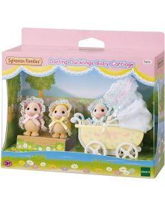 Sylvanian Families 5601 Darlings Ducklings   Sylvanian Families Darling Ducklings Baby Carriage