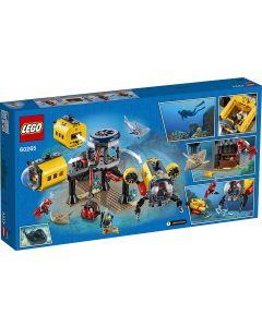 LEGO 60265 City Ocean Exploration Base Deep Sea Underwater Set