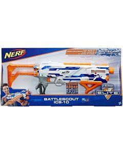 Hasbro C2779 Nerf N-Strike Elite Battlescout ICS-10 Crossbow Rifle Darts, Multi-Colour