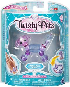 Twisty Pets 6044224 Babies 4-Pack Kitties and Puppies Collectible Bracelet Set for Kids