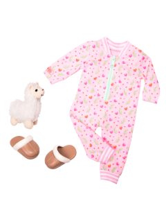 Our Generation 70.30388 Llama Lullabies Outfit