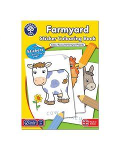 Orchard Toys CB10 Orchard Book Farmyard Book