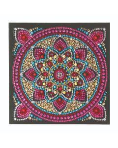 "Craft Buddy CCK-A42 ""Mandala"" Crystal Art Card Kit"