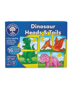 Orchard Toys 610 Dinos Heads & Tails
