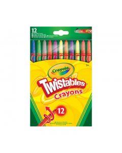 Crayola 52-8530 12 Twistable Crayons