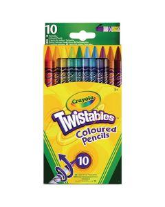Crayola 68-7415, 10 Twistables Pencils