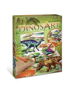 Dinosart DA15051 Dinosaur Dazzle-by-Number
