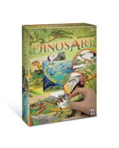 Dinosart DA15011 Dinosaur Sand & Foil Art