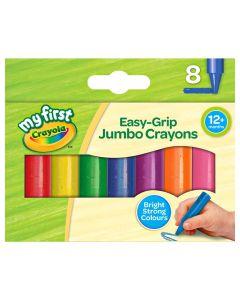 Crayola 81-8103 8 My First Jumbo Crayons