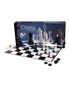 Gibsons G284 Chess and Draughts Set
