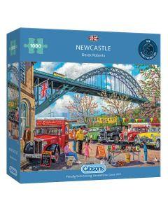 Gibsons G6313 Newcastle 1000 piece