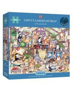 Gibsons G6324 getys Garden Retreat 1000 Piece