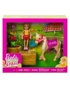 Barbie GFF50 Chelsea Doll & Horse