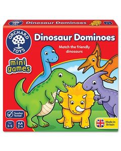 orchard Toys 353 Dinosaur Dominoes Game