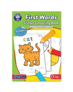 Orchard Toys CB04 First Words Colouring Book