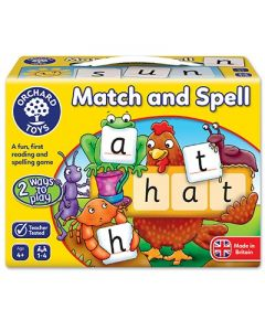 Orchard Toys 004 Match and Spell Game