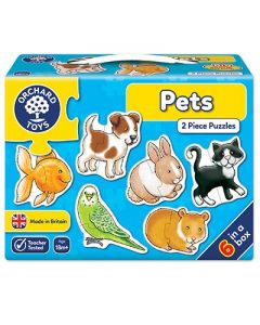 Orchard Toys 206 Pet 6 in a box Puzzle