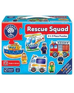 Orchard Toys 204 Rescue Squad Puzzle